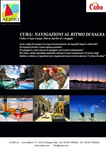 Crociera in acque cubane Salsa & Cayos !!