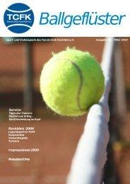 Ballgeflüster - Tennis-Club Ford Köln eV