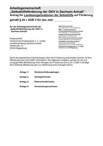 Selbsthilfeförderung Der Gkv In Sachsen Anhalt Ikk Gesund Plus