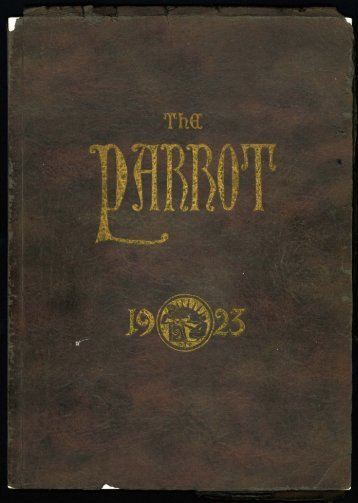 DTC 1923 Yearbook - Walter P. Reuther Library