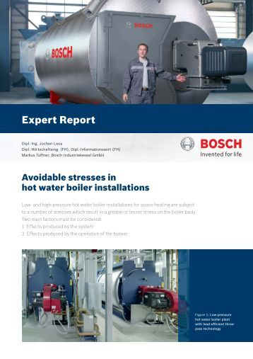 Download (PDF 0.4 MB) - Bosch Industriekessel GmbH