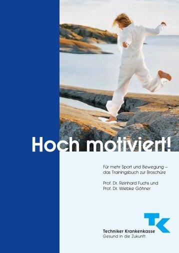 Trainingsbuch Hoch motiviert! - Techniker Krankenkasse