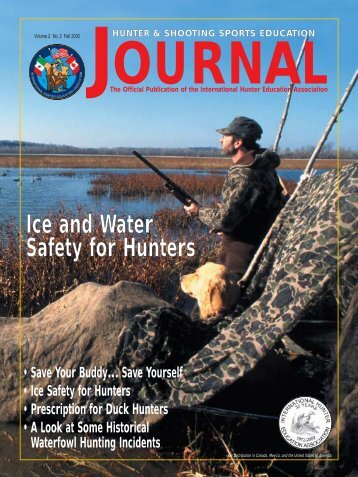 Ice and Water Safety for Hunters - International Hunter Education ...