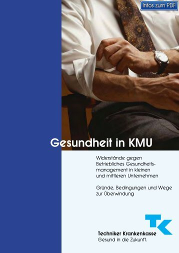 TK: Gesundheit in KMU - Techniker Krankenkasse