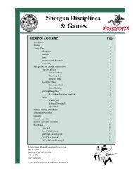 Shotgun Disciplines & Games - International Hunter Education ...