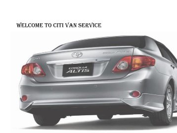 Reliable and Trusted Car & Van Rental Company in Cebu
