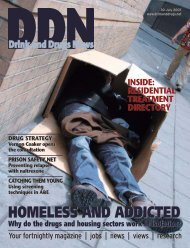 HOMELESS AND ADDICTED