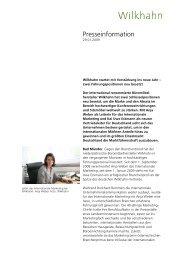 Presseinfo_Personalien_D - Wilkhahn