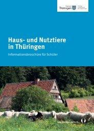 Haus- und Nutztiere in Thüringen - TLL