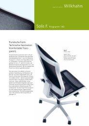 Solis F. Programm 190 Puristische Form. Technische Faszination ...