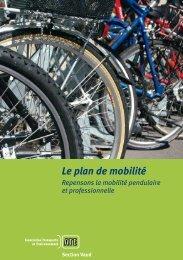 Le plan de mobilité