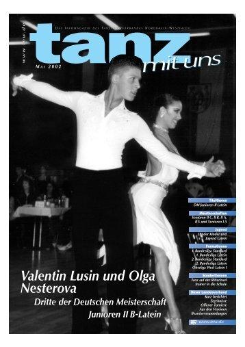 Valentin Lusin und Olga Nesterova Valentin Lusin und Olga ... - TNW