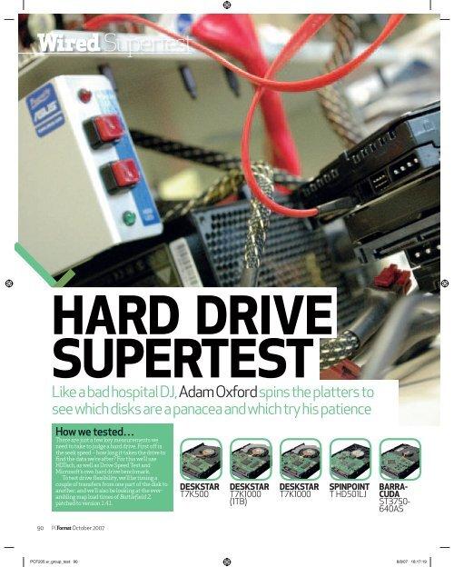 HARD DRIVE SUPERTEST