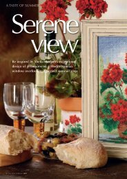 Be inspired by Sheila Hudson's exceptional design of geraniums on ...