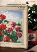 Be inspired by Sheila Hudson's exceptional design of geraniums on ... - Page 2