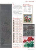 Be inspired by Sheila Hudson's exceptional design of geraniums on ... - Page 4