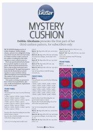 Mystery Cushion