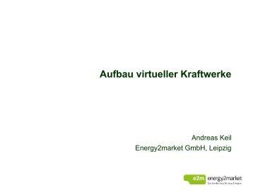 Aufbau virtueller Kraftwerke - TLL