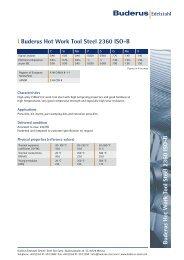 l 2360 ISO-B - Buderus Edelstahl GmbH