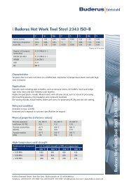 l 2343 ISO-B - Buderus Edelstahl GmbH