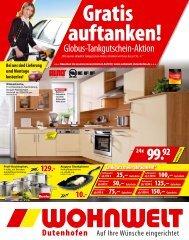 Gutschein - Wohnwelt Dutenhofen