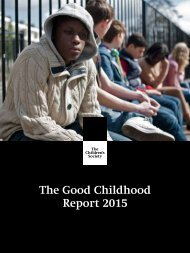 The Good Childhood Report 2015