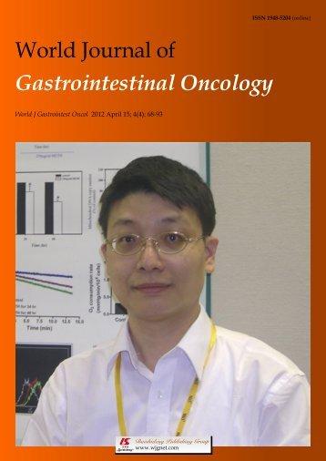 Colorectal cancer screening - World Journal of Gastroenterology