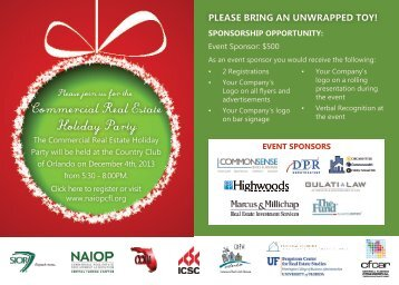 Commercial Real Estate Holiday Party