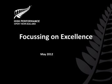 Focussing on Excellence