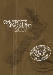 2007 Annual Report - Part 1 - Gym Sports