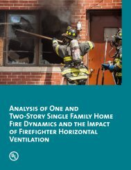 Analysis of One and Two-Story Single Family Home Fire ... - UL.com
