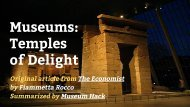 Museums Temples of Delight