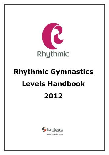 Rhythmic Gymnastics Levels Handbook 2012 - Gym Sports