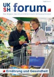 Ernährung und Gesundheit - UKSH Universitätsklinikum Schleswig ...