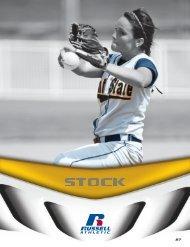 Russell Athletic Softball Stock Uniform Catalog 2012