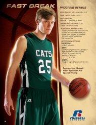 Russell Athletic Mens Basketball Fast Break Catalog