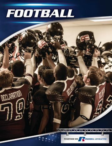 Russell Athletic 2013 Team Sports Catalog Fabric Info and Details
