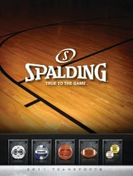 Spalding 2011 Team Catalog - Russell Athletic