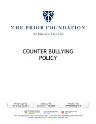 COUNTER BULLYING POLICY