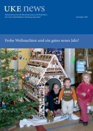 UKE-News Dezember 2005 - Universitätsklinikum Hamburg ...