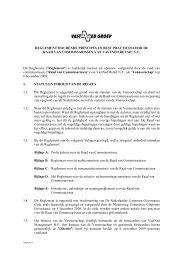 Reglement RvC - VastNed