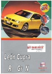 manual de usuario león cupra r - SEAT Sport
