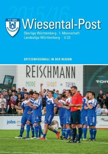 2. Ausgabe Wiesental-Post 2015/16