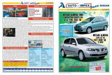 Nissan 2/2003 - AUTO-IMPEX