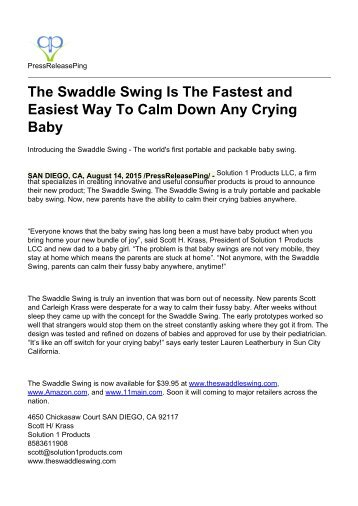 The Swaddle Swing Is The Fastest and Easiest Way To Calm Down Any Crying Baby.pdf