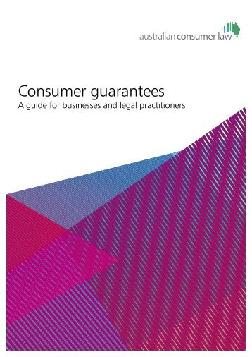 the consumer guarantees Consumer guarantees automatically apply if you bought, hired or leased goods or services after 1 january 2011: for less than $40,000 for more than $40,000 but they are normally used for personal, domestic or household purposes.