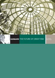 THE FUTURE OF CREDIT RISK
