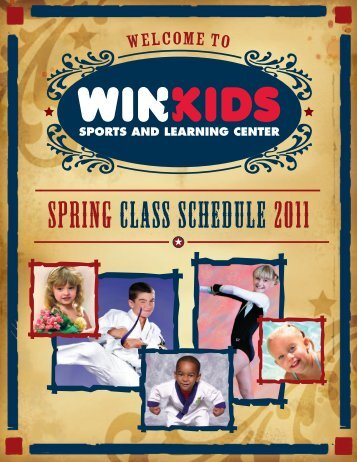 SPRING CLASS SCHEDULE 2011