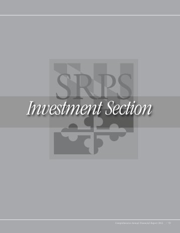 Investment Section