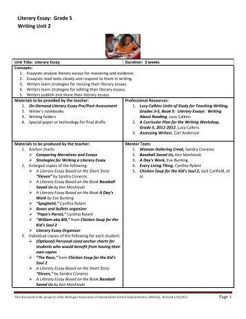 Ap Lit Sample Essays